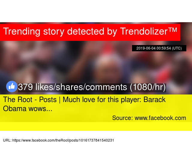 The Root - Posts | Much love for this player: Barack Obama