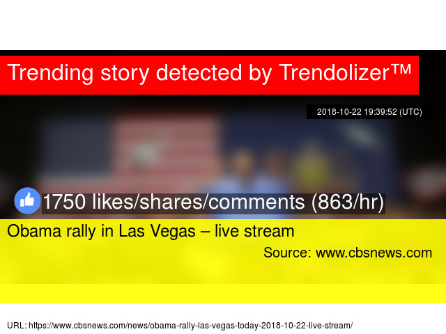 Obama rally in Las Vegas &ndash